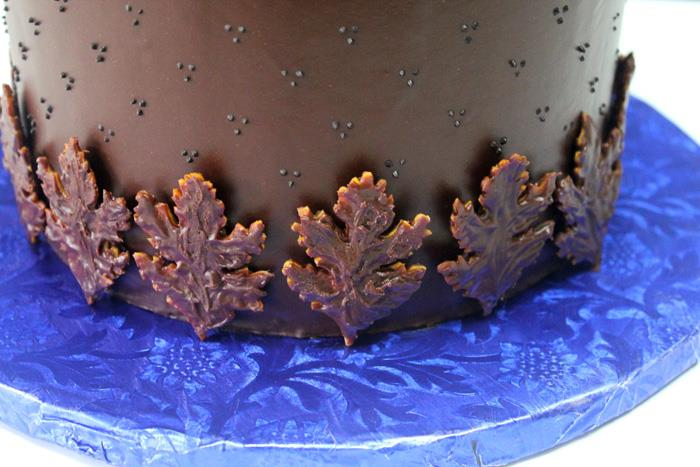 Chocolate Cake detail