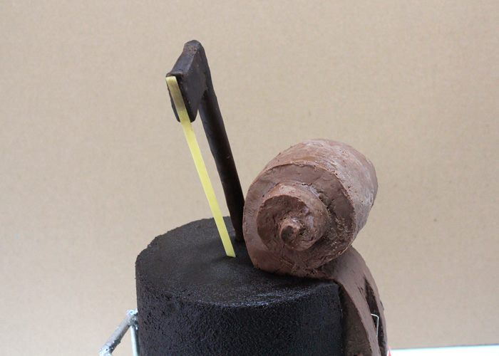 Graduation Violin cake detail 2
