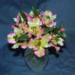 Alstroemeria sugar flowers