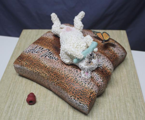 Dog Cake 4 spx