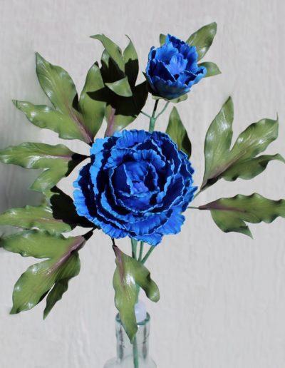 Blue Peony 750px