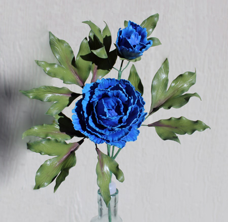 Blue Peony 450px