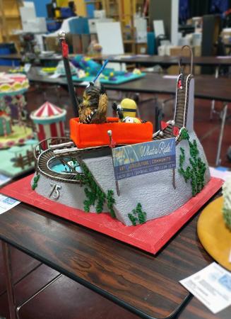 2016 County Fair cake.