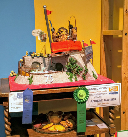 2016 County Fair award-winning cake.